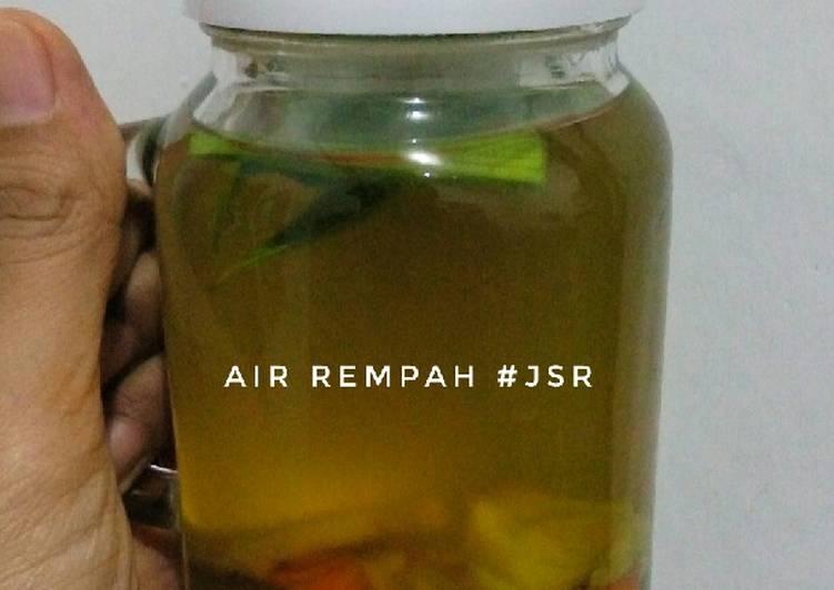 Cara Termudah Menyiapkan [JSR] Air Rempah Super