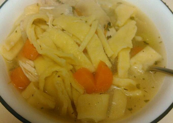Recipe: Perfect Chicken Noodle Soup (from scratch)