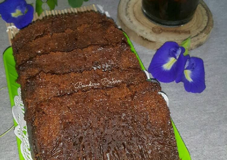 resep memasak #214 Bolu Karamel (bolu sarang semut) - Sajian Dapur Bunda