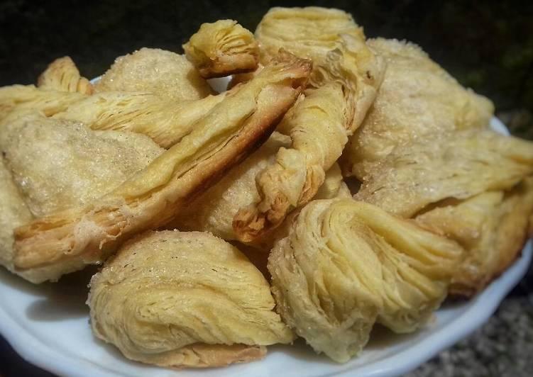 Puff pastry homemade