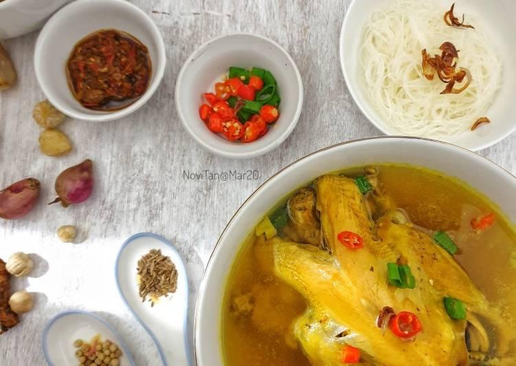 118. Soto Ayam Kuning Medan