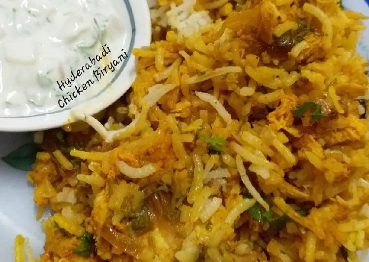 15 Minute Step-by-Step Guide to Make Favorite Hyderabadi Chicken Biryani Restaurant Style