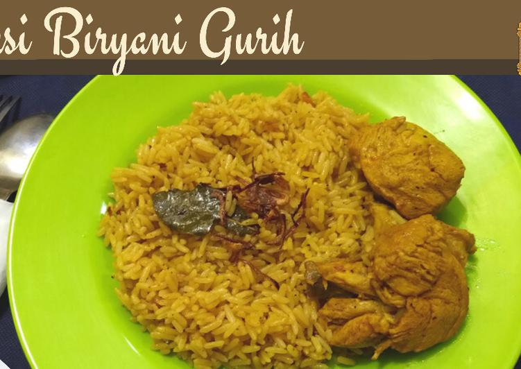 Nasi Biryani/ Nasi Mandi Ayam