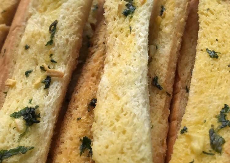 Resep Garlic Bread ala Mak Kalun Paling Enak