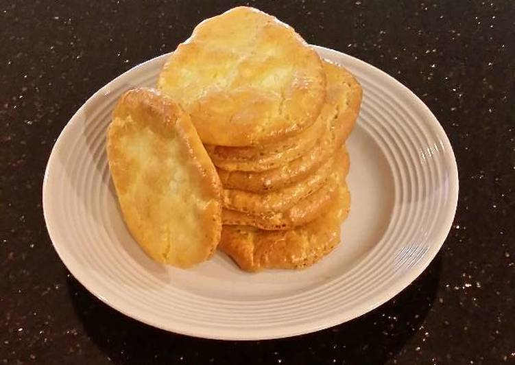 Easiest Way to Prepare Tasty Cloud Bread with Romano Cheese and Garlic Pepper