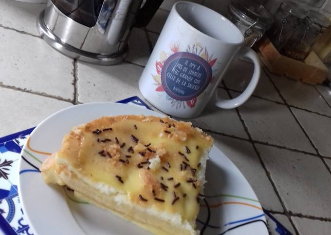 Gâteau Nuage💭 Lemon Curd 🍋