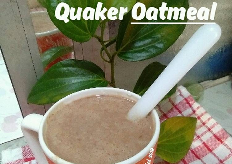 Kurma Susu + Quaker Oatmeal