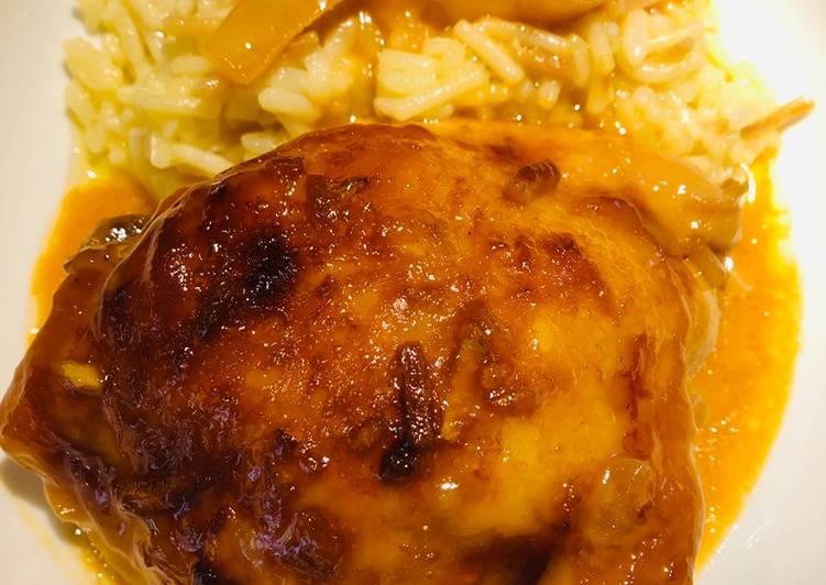 Recipe: Yummy Tangy Teriyaki Apricot Chicken 🐔
