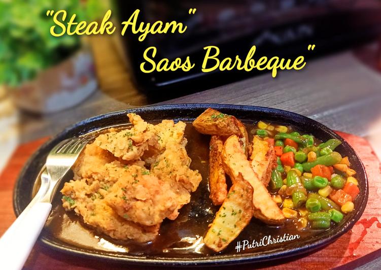 Rahasia Memasak Steak ayam saos barbeque Anti Ribet!