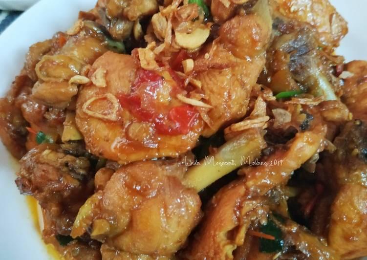 Ayam Kecap Pedas Manis (Simple Serba Iris)