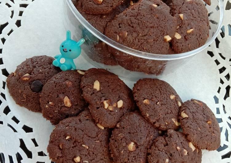 Choco Fudge Mede Cookies