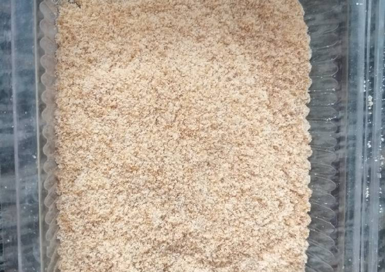 Home Made Bread Crumbs #4 week contest #5 or less ingredients co