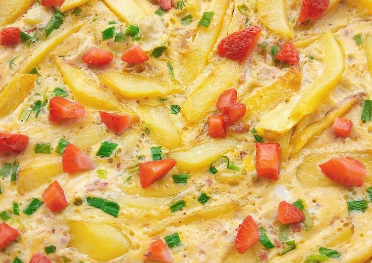 Recipe Of Tasty Potatoes Frittata Best Recipes
