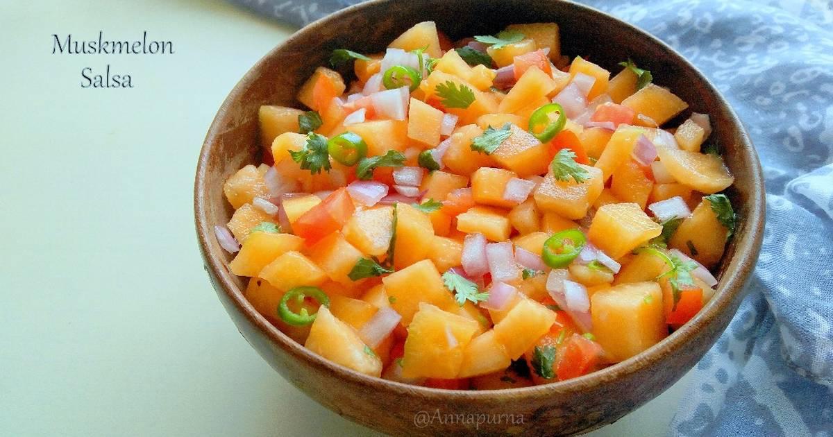 Muskmelon Salsa Recipe By Poonam Bachhav Cookpad