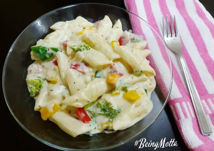 Simple Way to Prepare Homemade Italian White Pasta