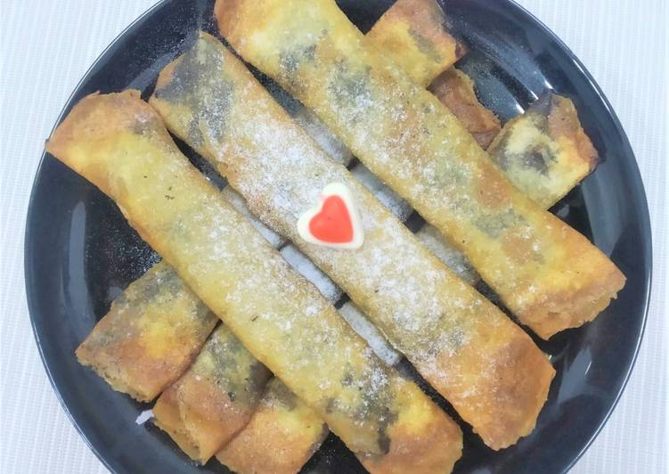 Resep Pisang Coklat Piscok Lumer Dan Kriuukk Yang Menggugah Selera Resep Kue Com