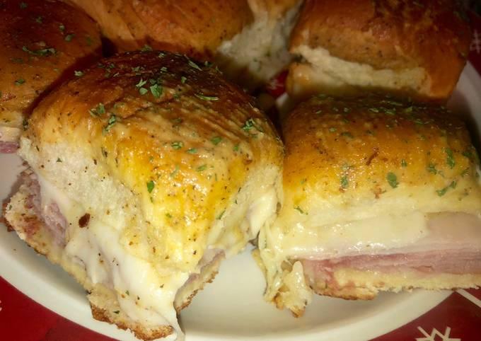 Ham and Swiss sliders