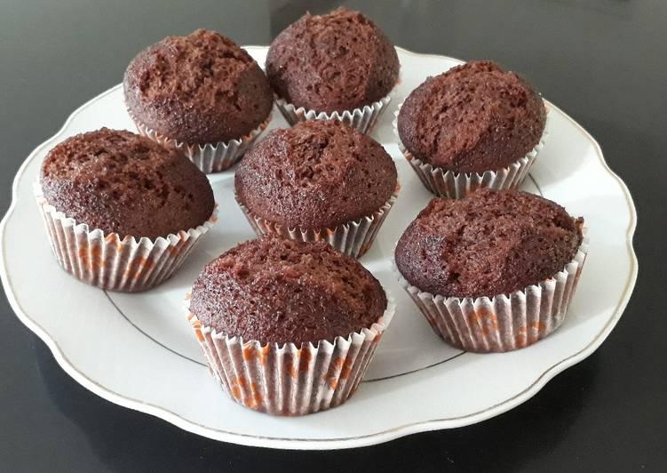 Brownies cup chocolatos