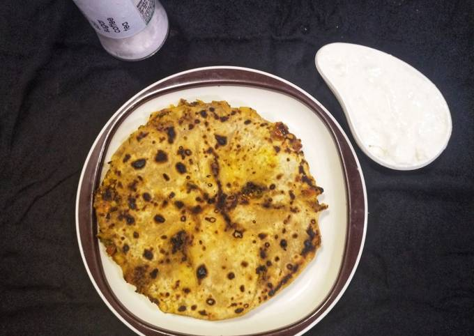 Recipe of Gordon Ramsay Veg aloo paratha