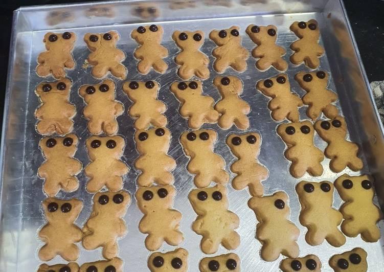 Butter Cookies Ekonomis (oven tangkring)