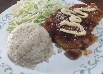 Easiest Way to Recipe Perfect Chicken tonkatsu