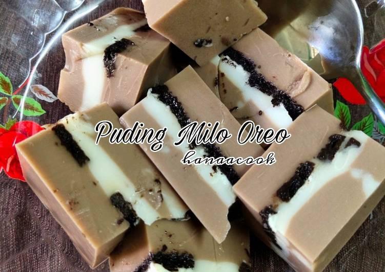Puding Milo Oreo - velavinkabakery.com