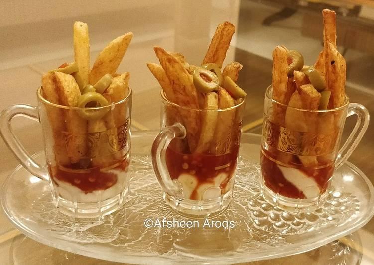 25 Minute Recipe of Speedy Hot Shot Fries 🍟