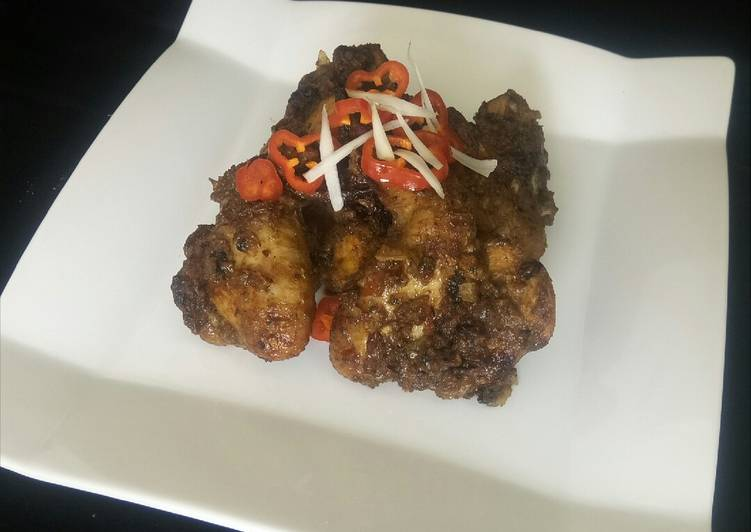 Honey glazed BBQ chicken