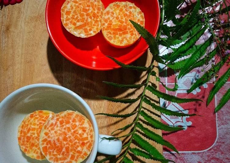 telur mangkuk kukus vegan