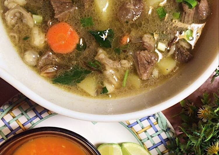 Sop Daging Sapi 🤤 (TIPS DAGING EMPUK HEMAT GAS TANPA PRESTO)