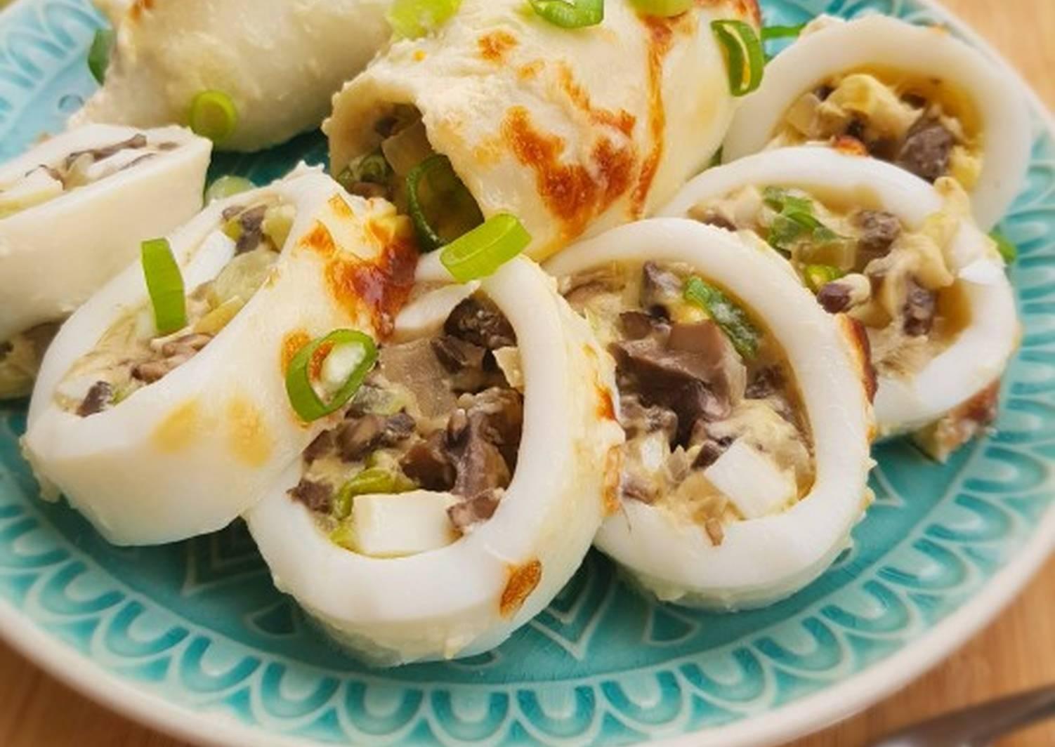 Блюда из кальмаров рецепты с фото пошагово составленного нами