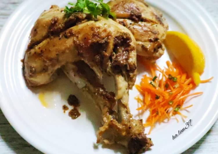 Ayam Panggang Buttermilk Versi Keto