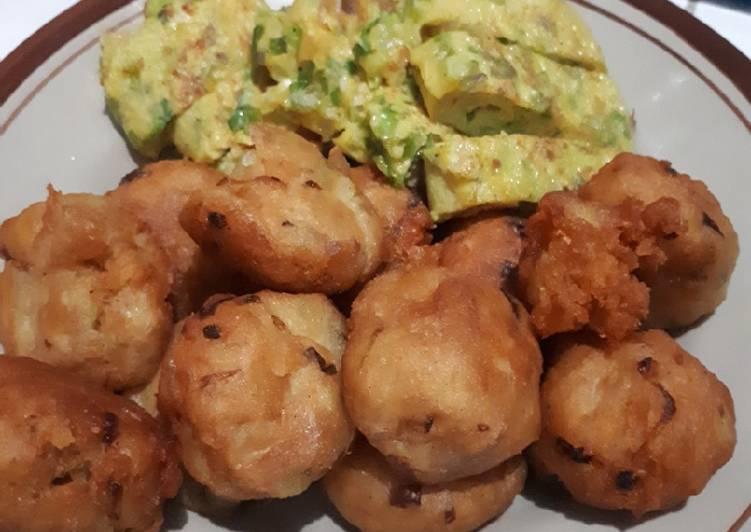 Perkedel kentang krispi simpel