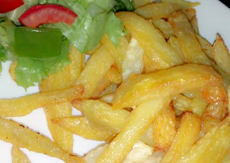 Steps to Make Homemade Fried Potatoes & Vegetables