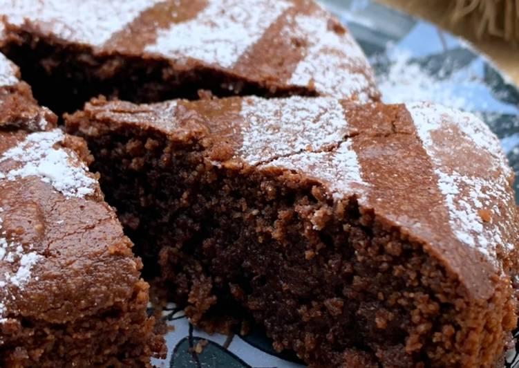 Amandier au chocolat sans gluten et sans lactose