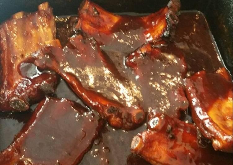 Mama's rib sauce