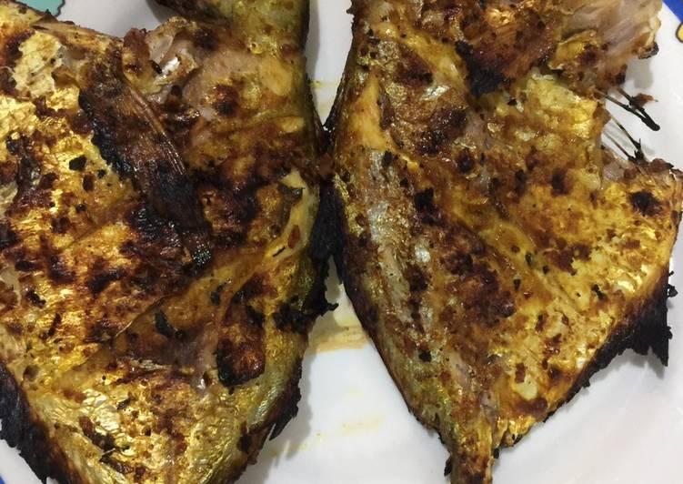Ikan bakar kecap lezat nikmat