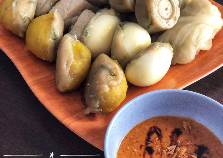 Resep Siomay Bandung Asli (Kenyal anti gagal) Yummy