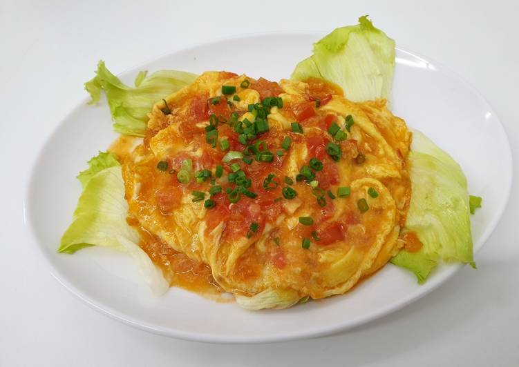 How to Cook Appetizing Tomato Omelets 番茄滑蛋