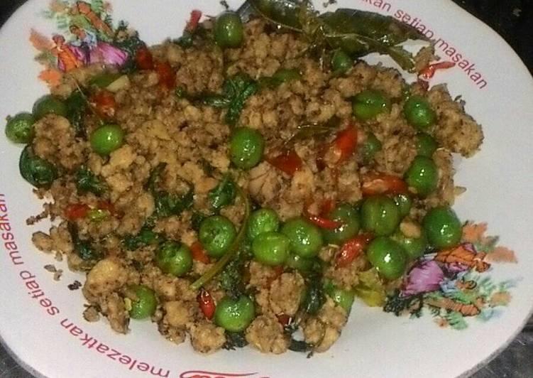 Resep Tumis Oncom Leunca Kemangi Kenangan Almh Mama Oleh Watisari Danti Cookpad