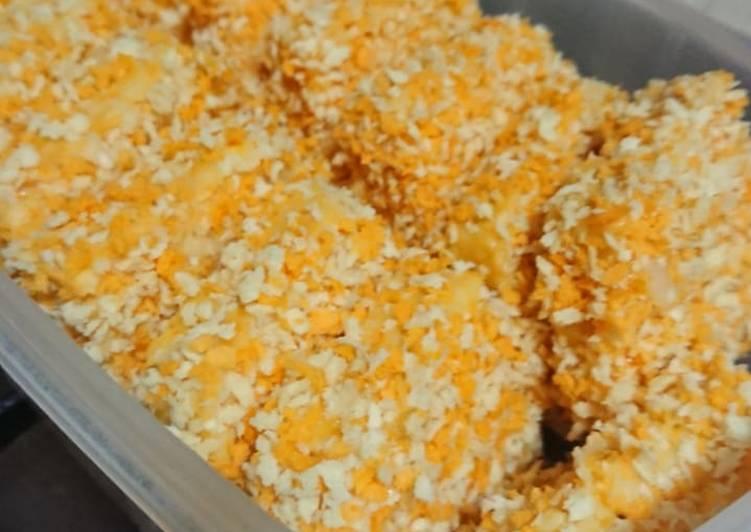 Nugget Ayam wortel dengan keju