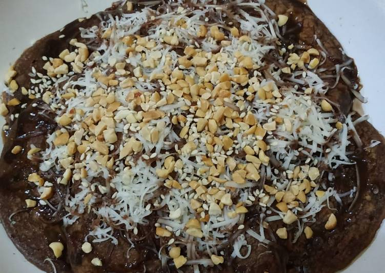 Chocolate Oat Pancake