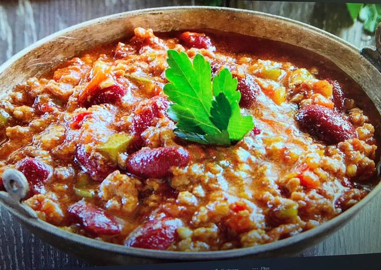 Comment Servir Chili con carne