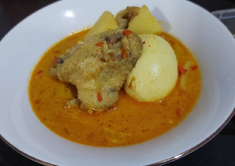 Kare Ayam Kentang - cookandrecipe.com