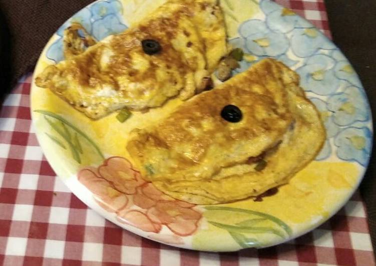 How to Prepare Ultimate Mushroom and Cheese Omlette