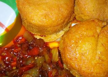 How to Recipe Appetizing Moi moi with sauce