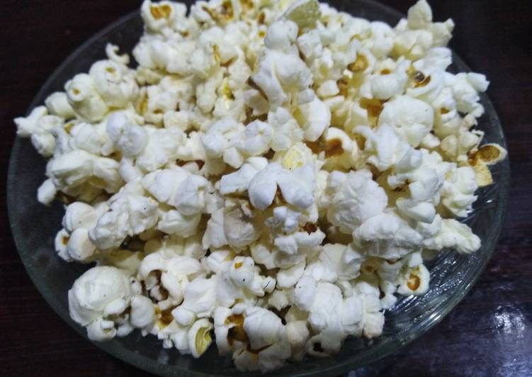 Steps to Make Perfect Butter popcorn