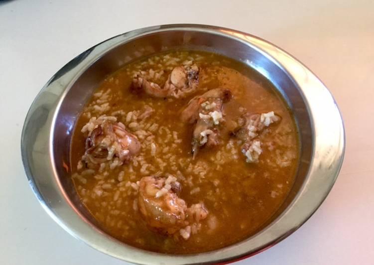 recetas de arroz caldoso con conejo