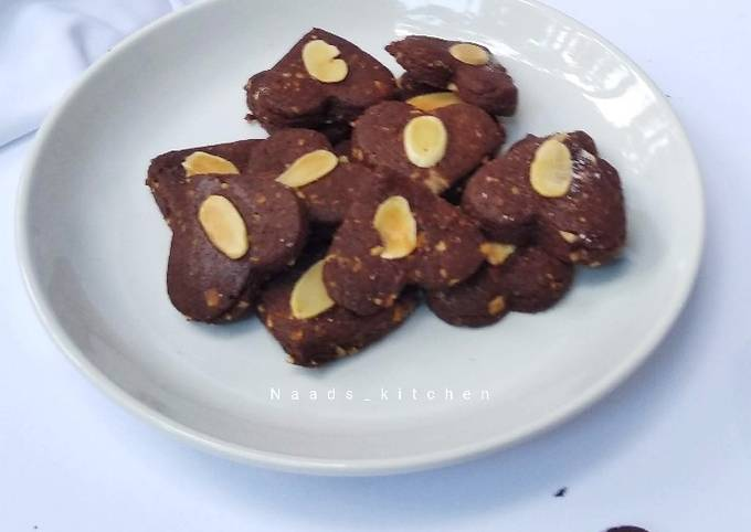 Almond Chocolate Cookies
