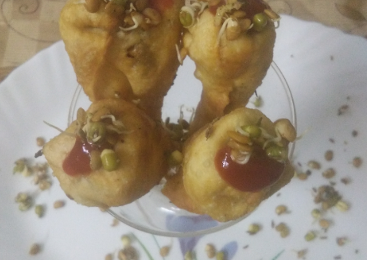Step-by-Step Guide to Make Ultimate Sprouts Cone Chaat